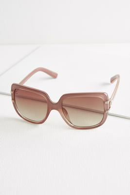 square enamel sunglasses