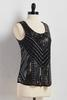 Art Deco Embellished Tank