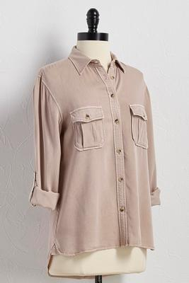 button down utility shirt