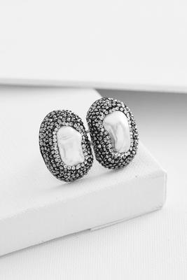 double stone pave statement ring