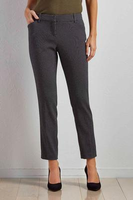 micro dot everyday ankle pants