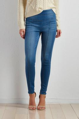 pull-on skinny jeans