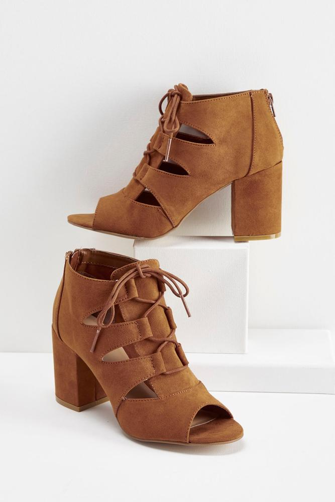 Lace Up Shooties