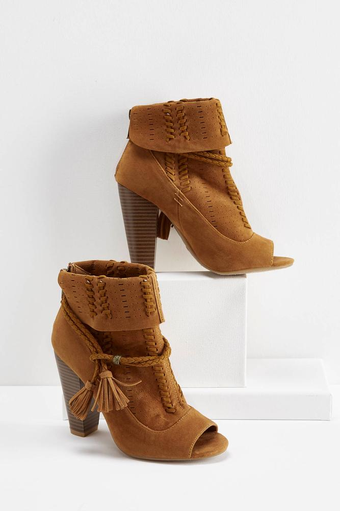 Foldover Whipstitch Booties