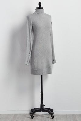 thumb hole lounge dress