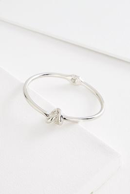 metal knot hinge bracelet