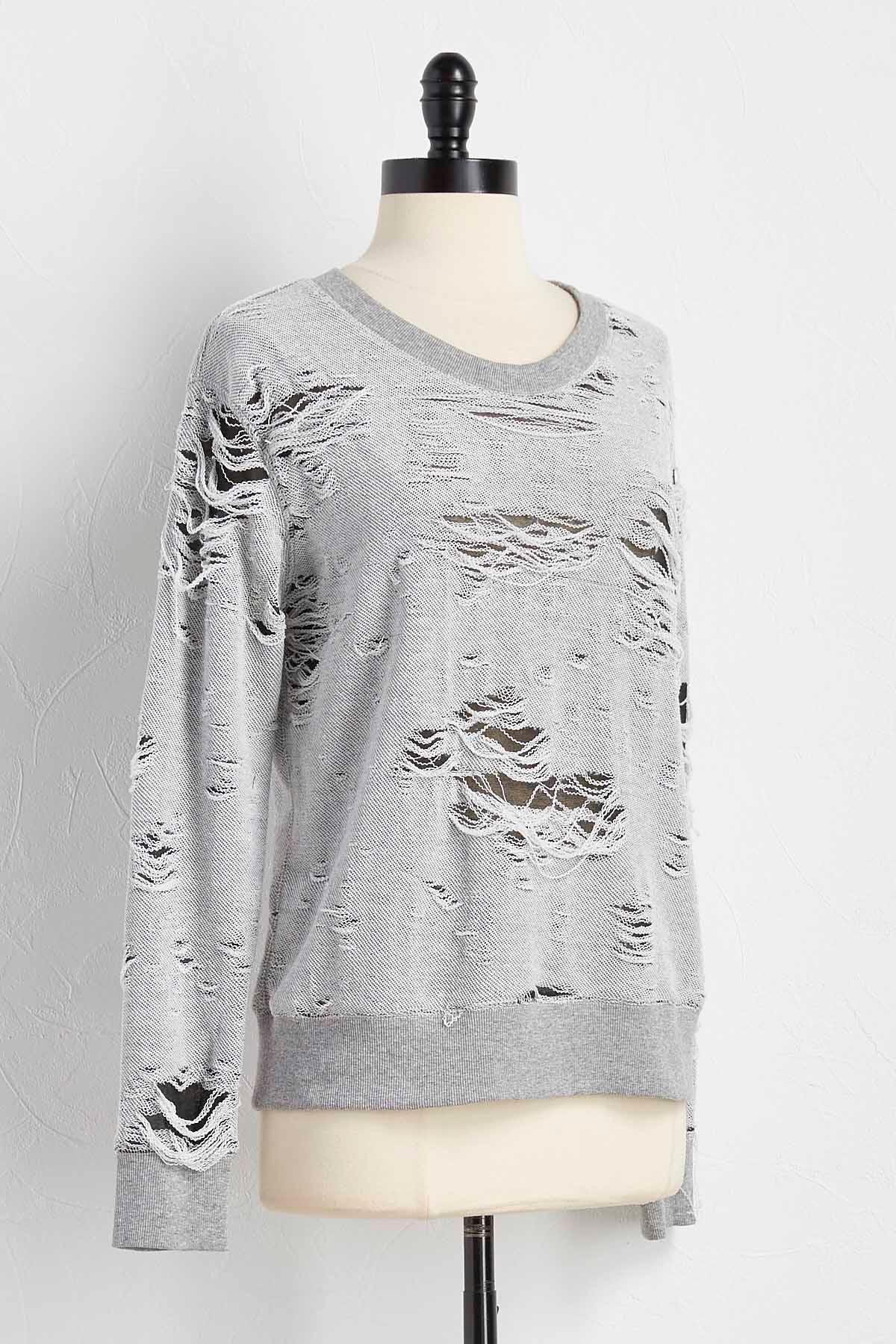 Destructed Sweatshirt