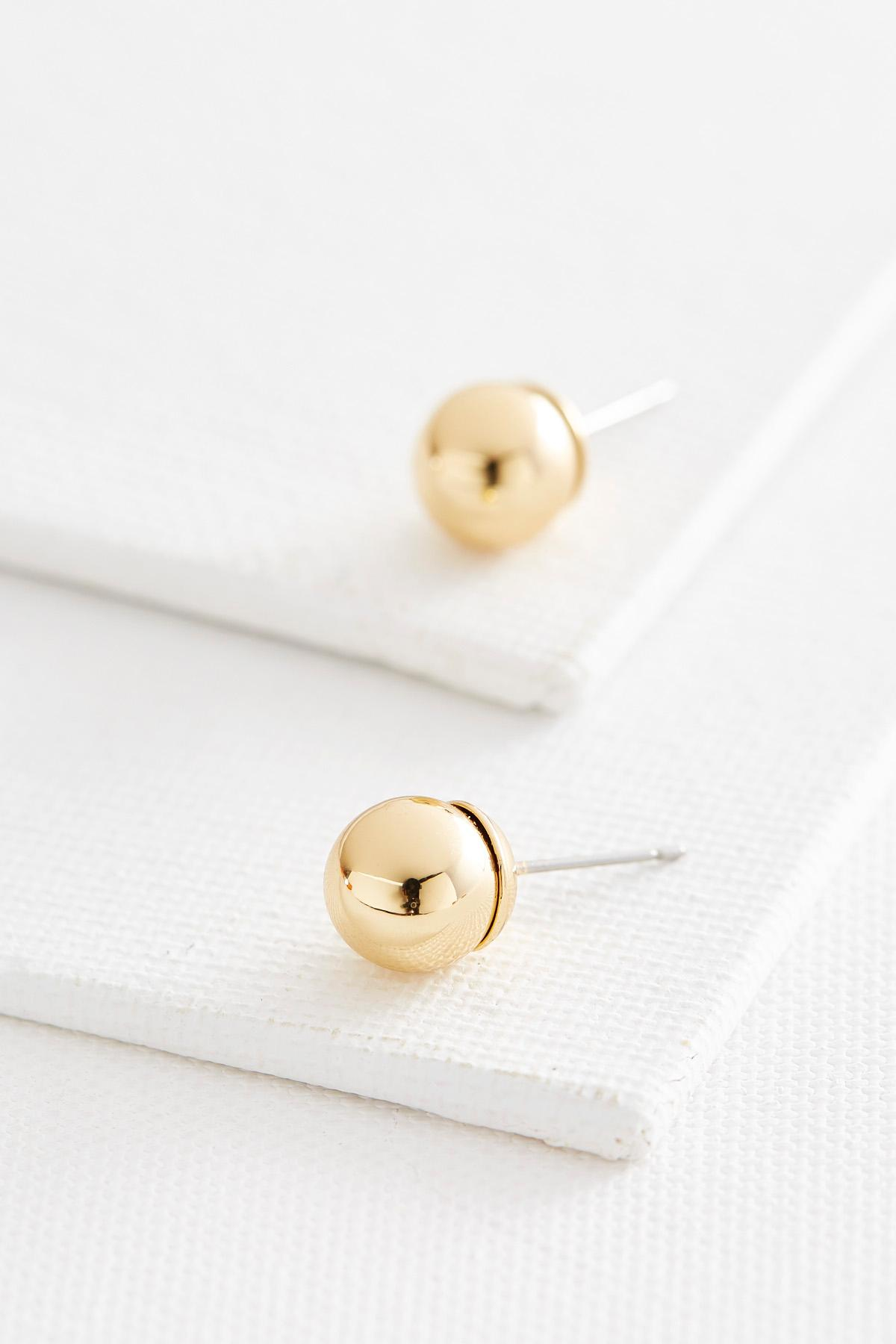 Classic Ball Stud Earrings