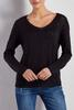 Ribbed Trim Pullover Sweater