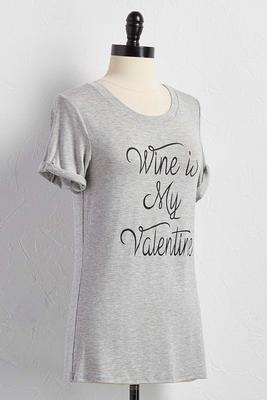 my valentine graphic tee