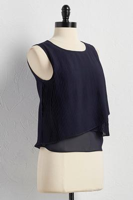 accordion pleat front skimmer tank