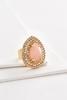 Haloed Stone Statement Ring