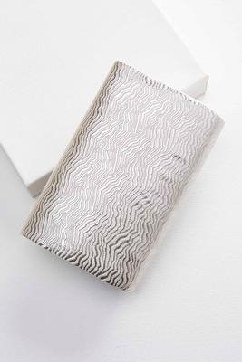 metallic swirl clutch