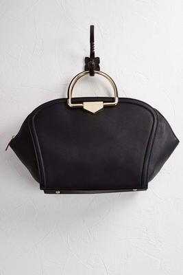 gusset satchel