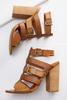 Textured Woven Strap Shooties