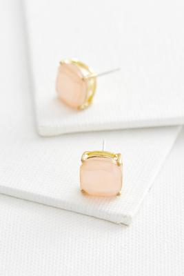 cushion cut stud earrings