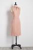 Bow Neck Ponte Sheath Dress
