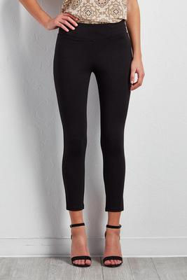 crop ponte leggings