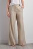 Herringbone Linen Wide Leg Pants