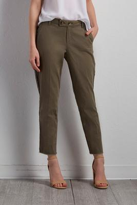 piped skimmer pants