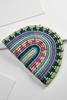Fiesta Dome Straw Clutch
