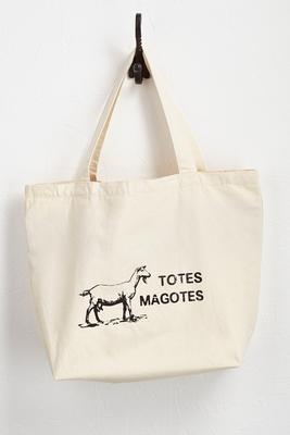 totes magotes canvas tote