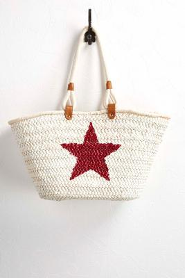 star straw oversized tote
