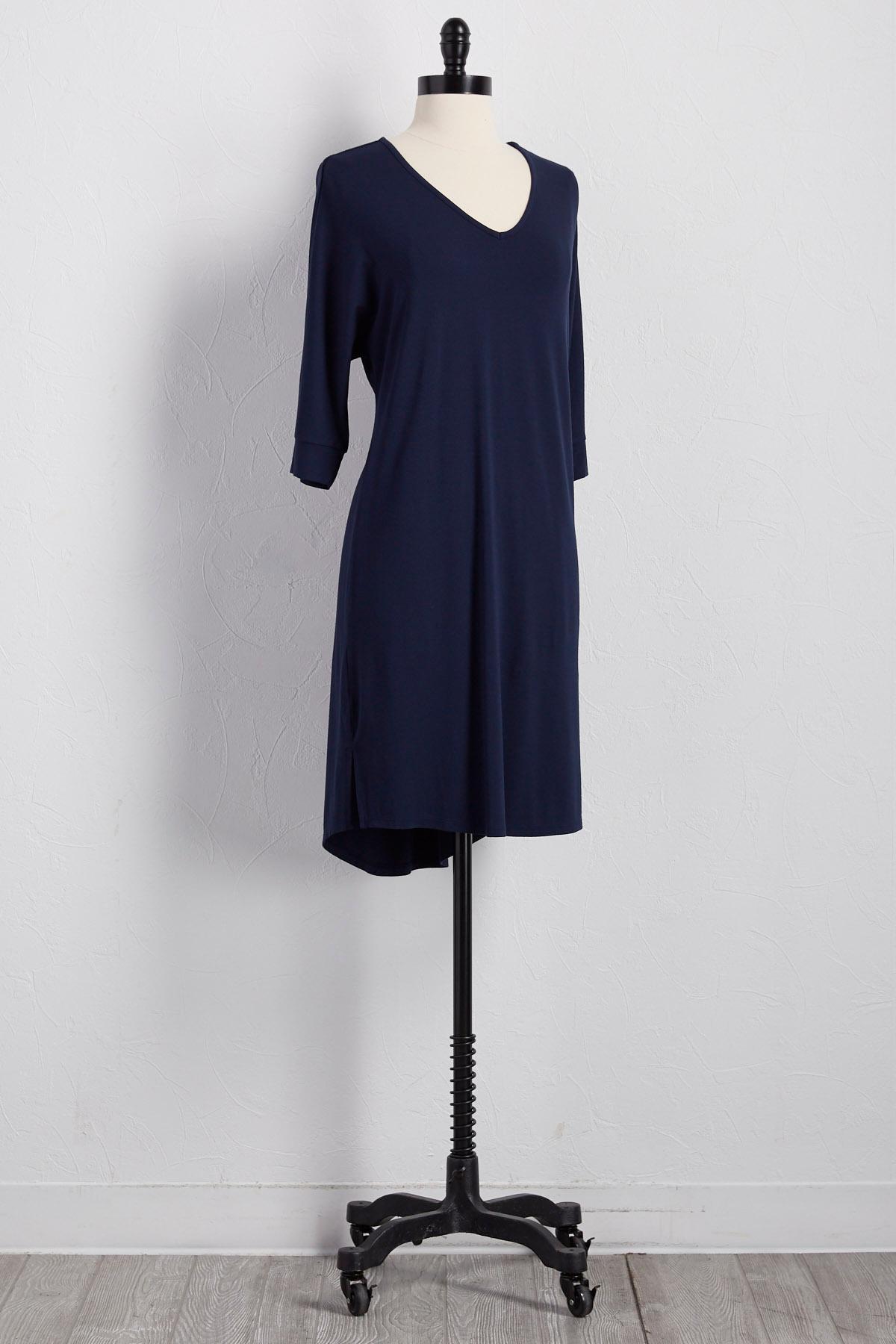 Dolman T- Shirt Dress