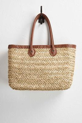 braided straw oversized tote