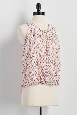 abstract block twist front top
