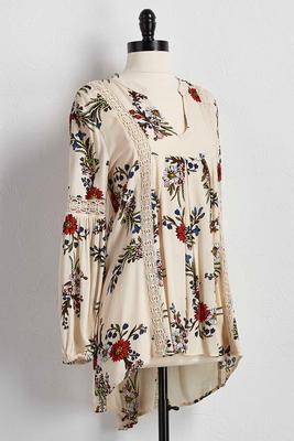 floral poet top