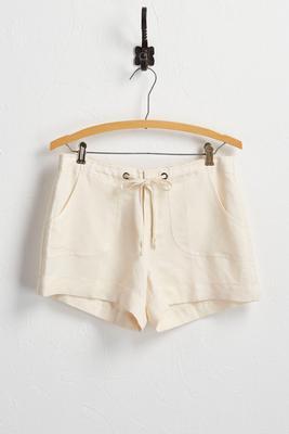 drawstring beach shorts