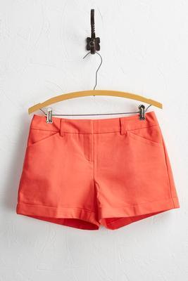 everyday cuffed shorts