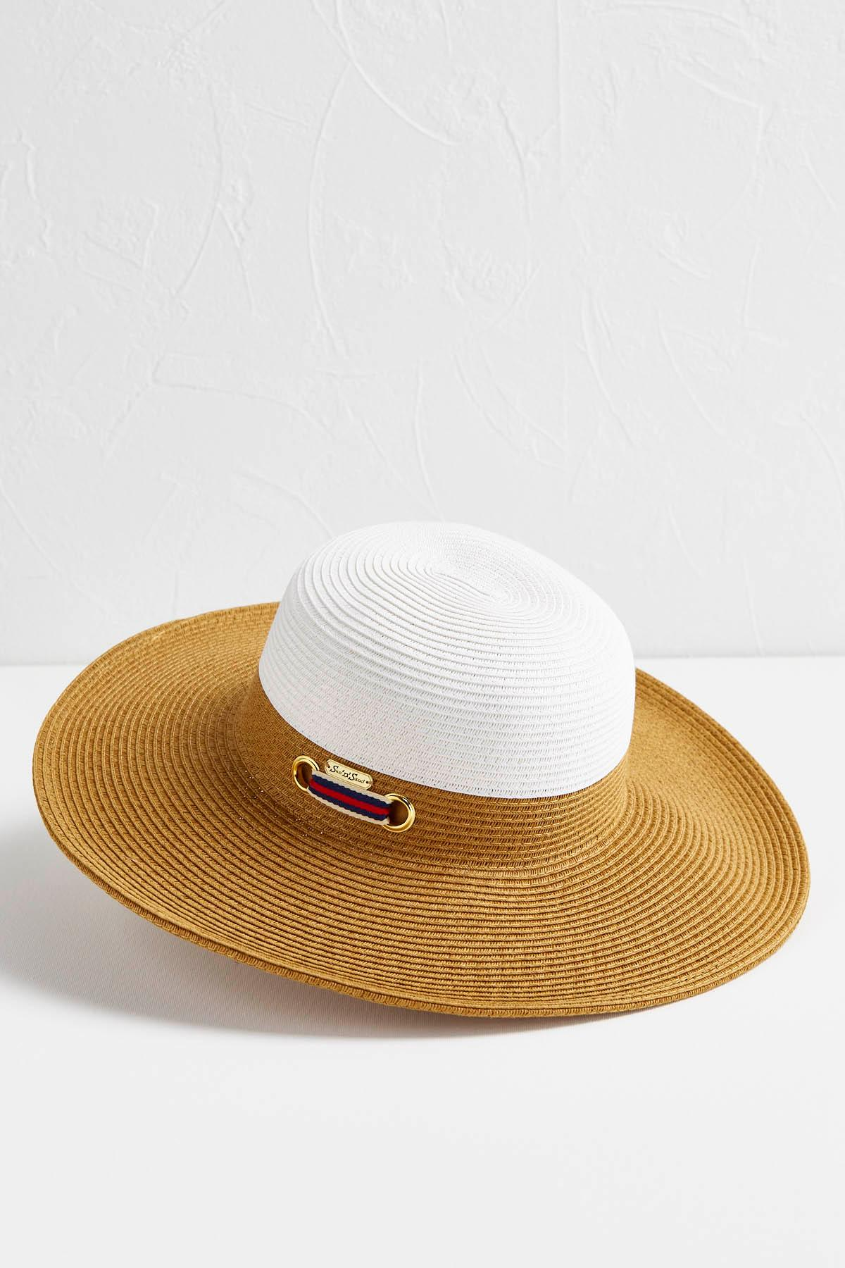 Colorblock Floppy Hat