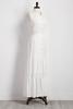 Hammered Satin Henley Maxi Dress