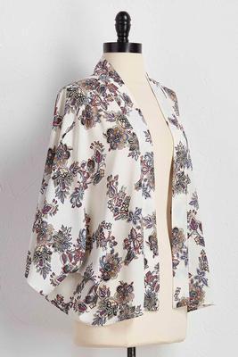 paisley kimono cardigan