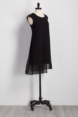 cutout back high-low flyaway midi dress