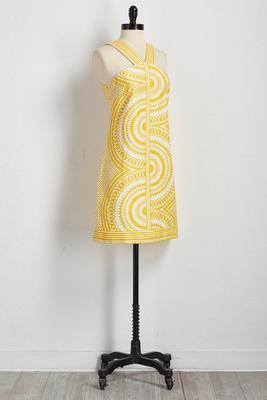 tapestry sheath dress