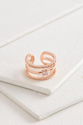 open pave ring