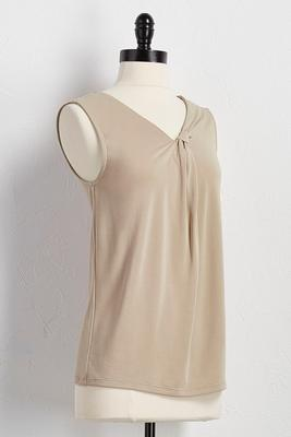 silk wash front knot tank