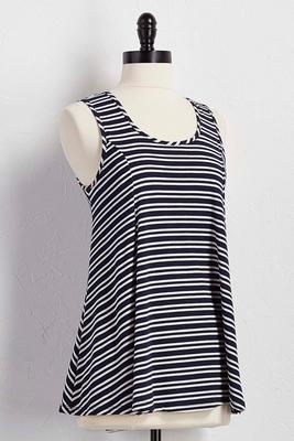 striped bar back swing tank
