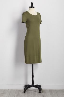 t-shirt midi dress