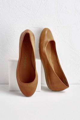 comfort sole flats