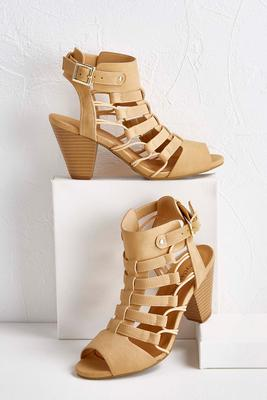 stretch cord caged cutout shooties