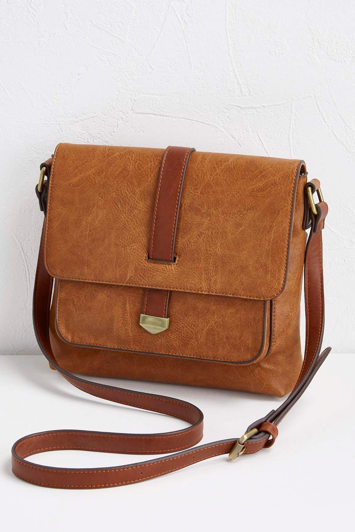 Front Pocket Flap Crossbody