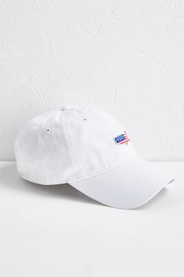 american flag patch baseball hat