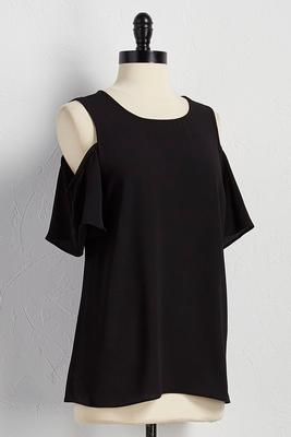 bare shoulder top