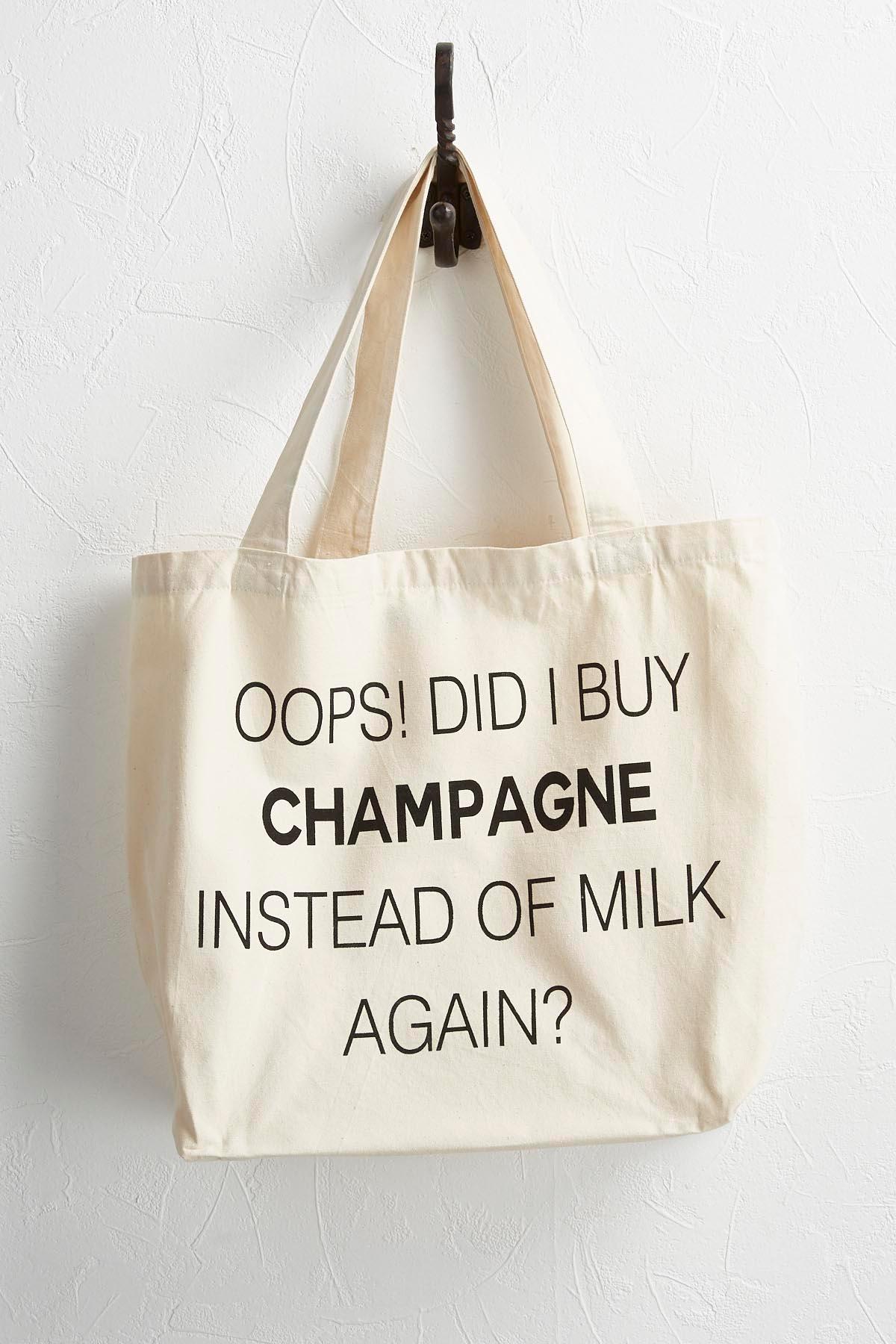 Champagne Canvas Tote