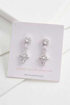 say i do chandelier earrings