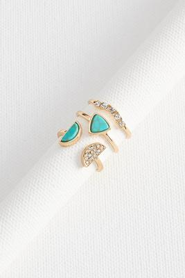 semi-circle stackable ring set